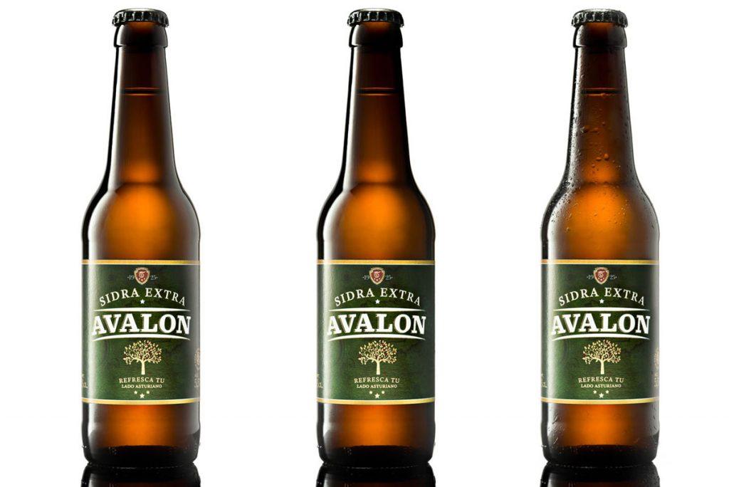 fotografías de botellas para ecommerce