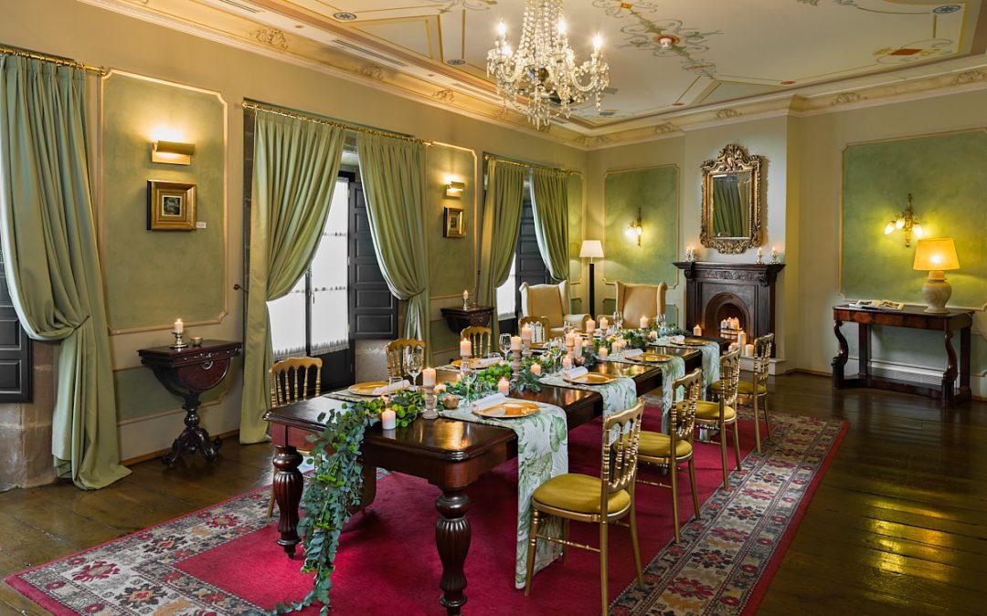 salón hotel palacio de ferrera
