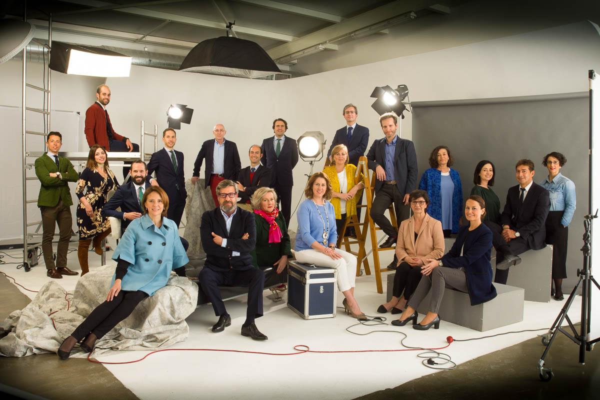 Sesión retrato corporativo equipo Fundación Princesa de Asturias