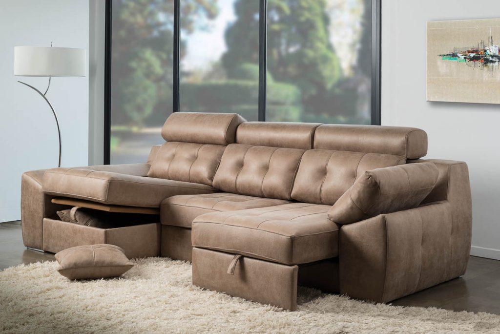 foto de mobiliario con set y decoración en estdio