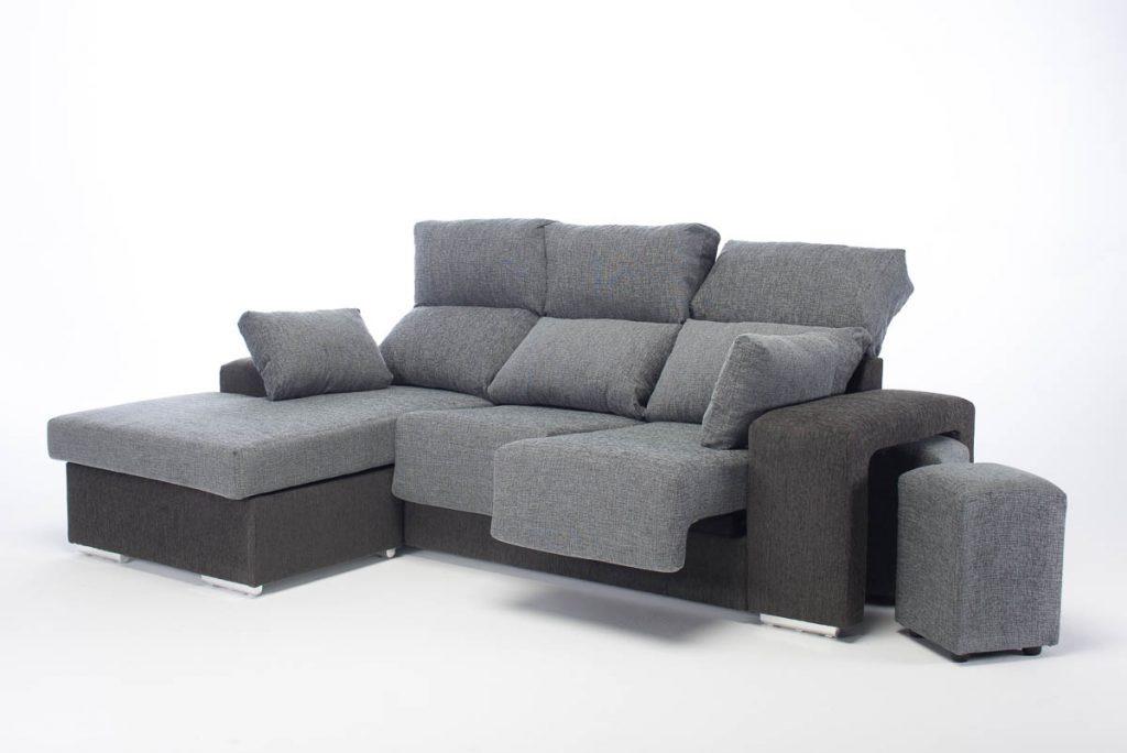 fotografía sofás sobre fondo blanco