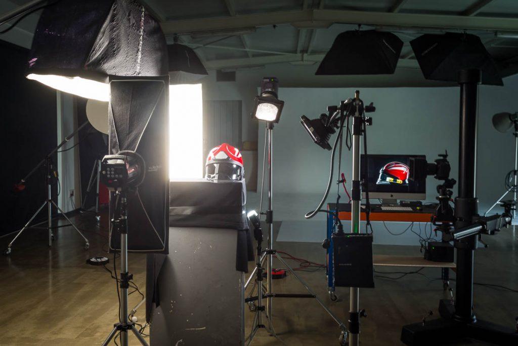 Set fotografía producto industrial