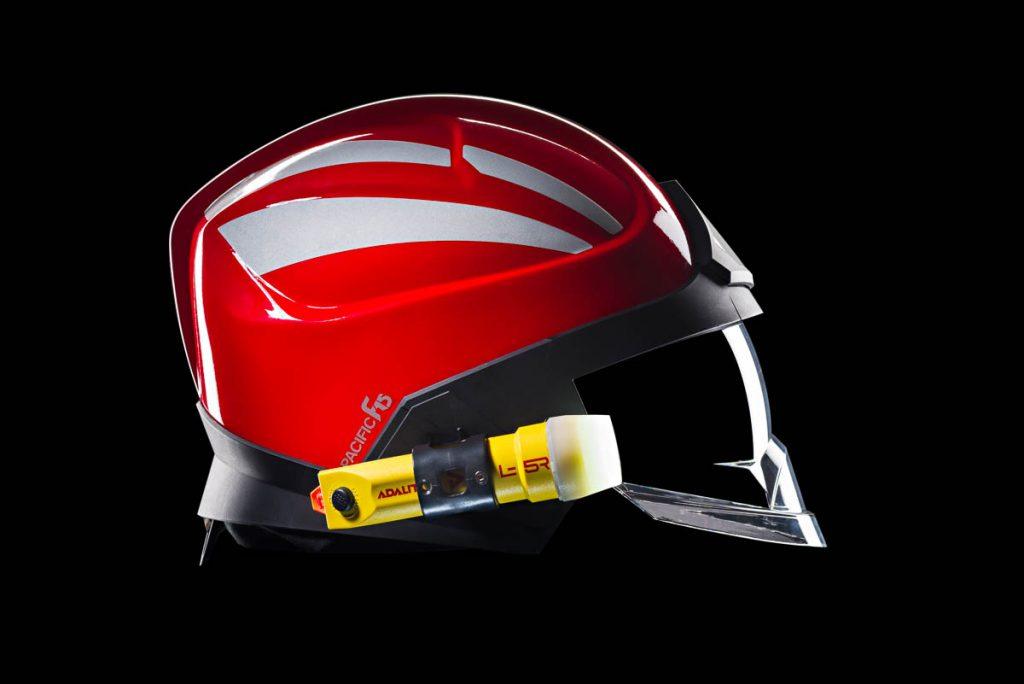 casco y linterna foto producto