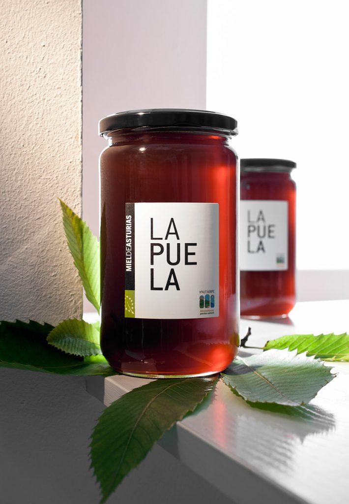 Miel de Asturias de la marca La Puela