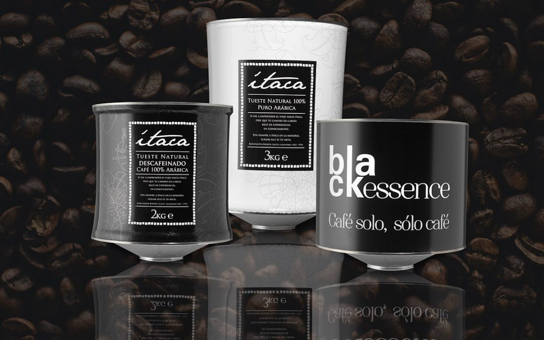 bodegón publicitario envases café
