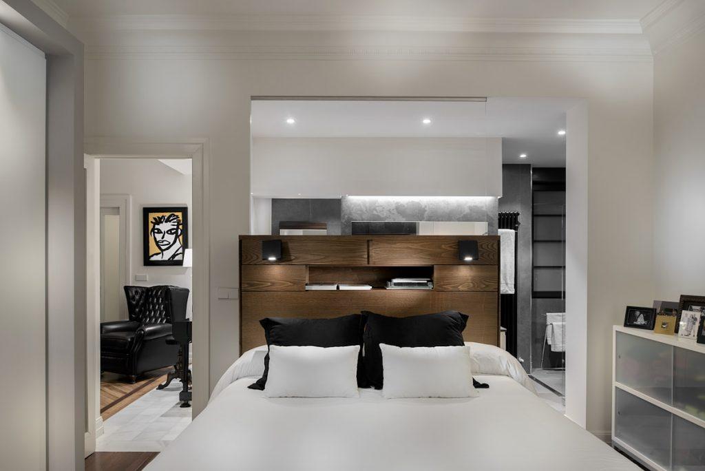 reportaje fotográfico interiorismo dormitorio vivienda