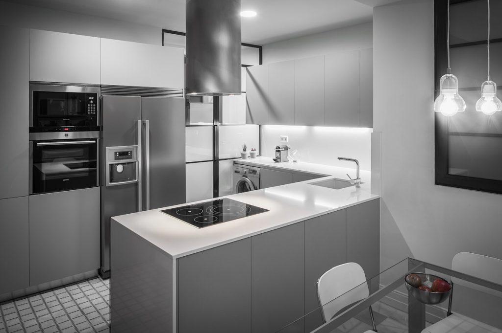 reportaje fotográfico interiorismo cocina vivienda