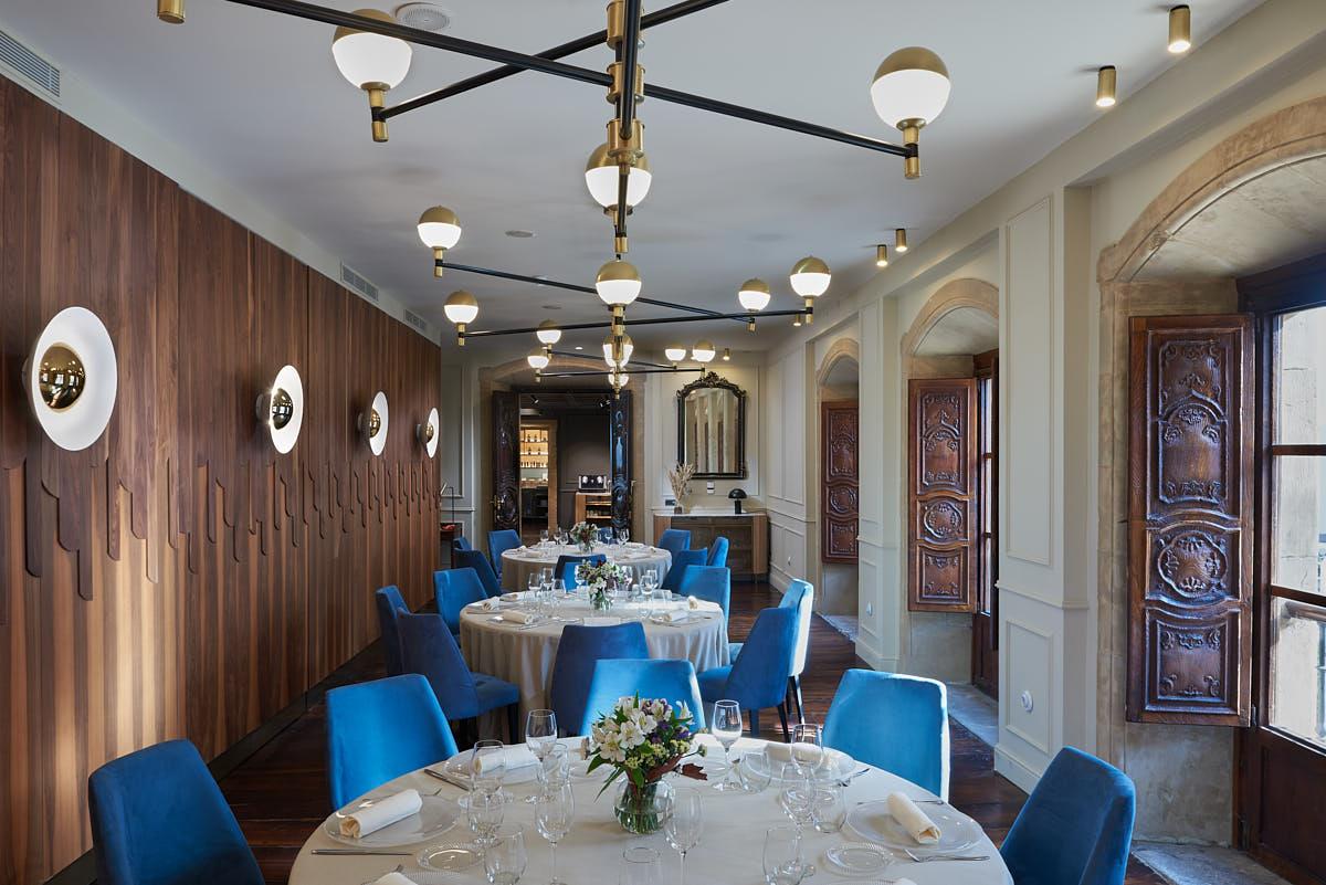 Fotografía Interior Salón de Desayunos en un hotel de cinco estrellas