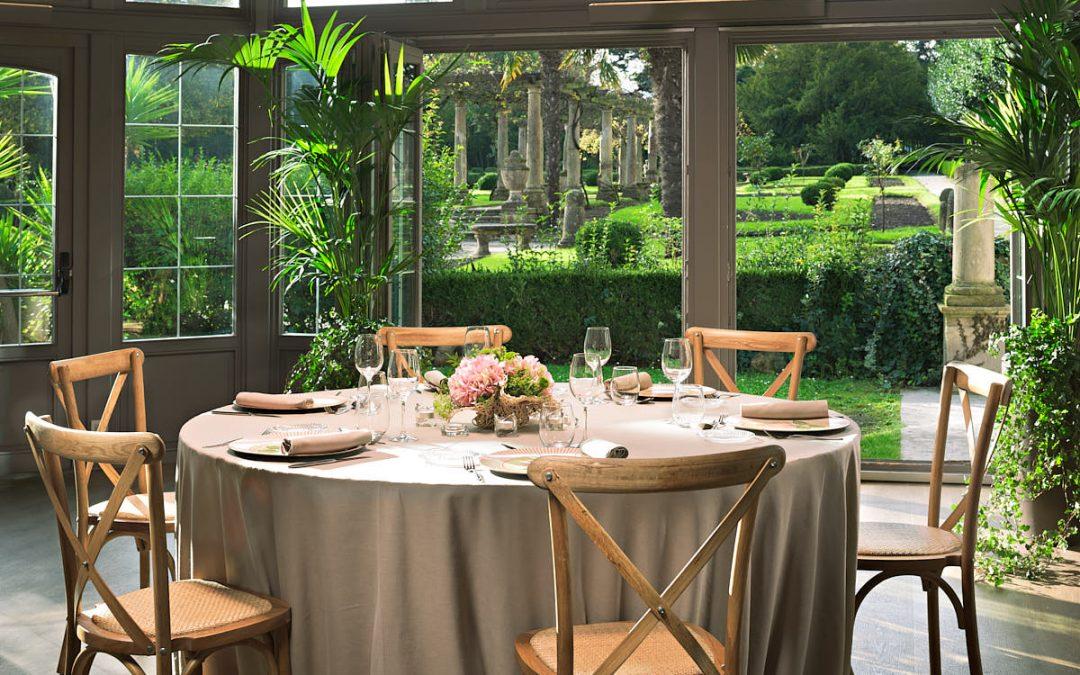Fotografía decoración salón boda