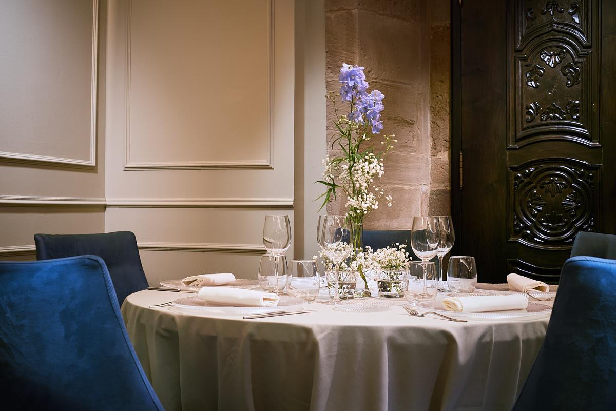 Detalle Decoración Interiores Comedor Restaurante