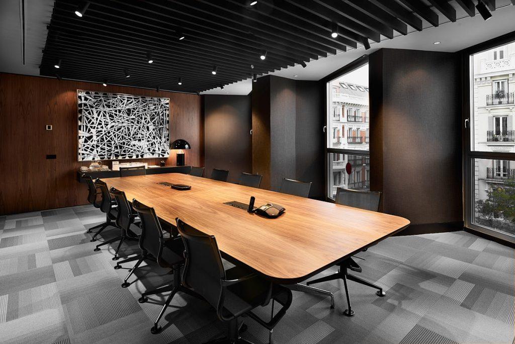 Reportaje sala de reuniones despacho profesional