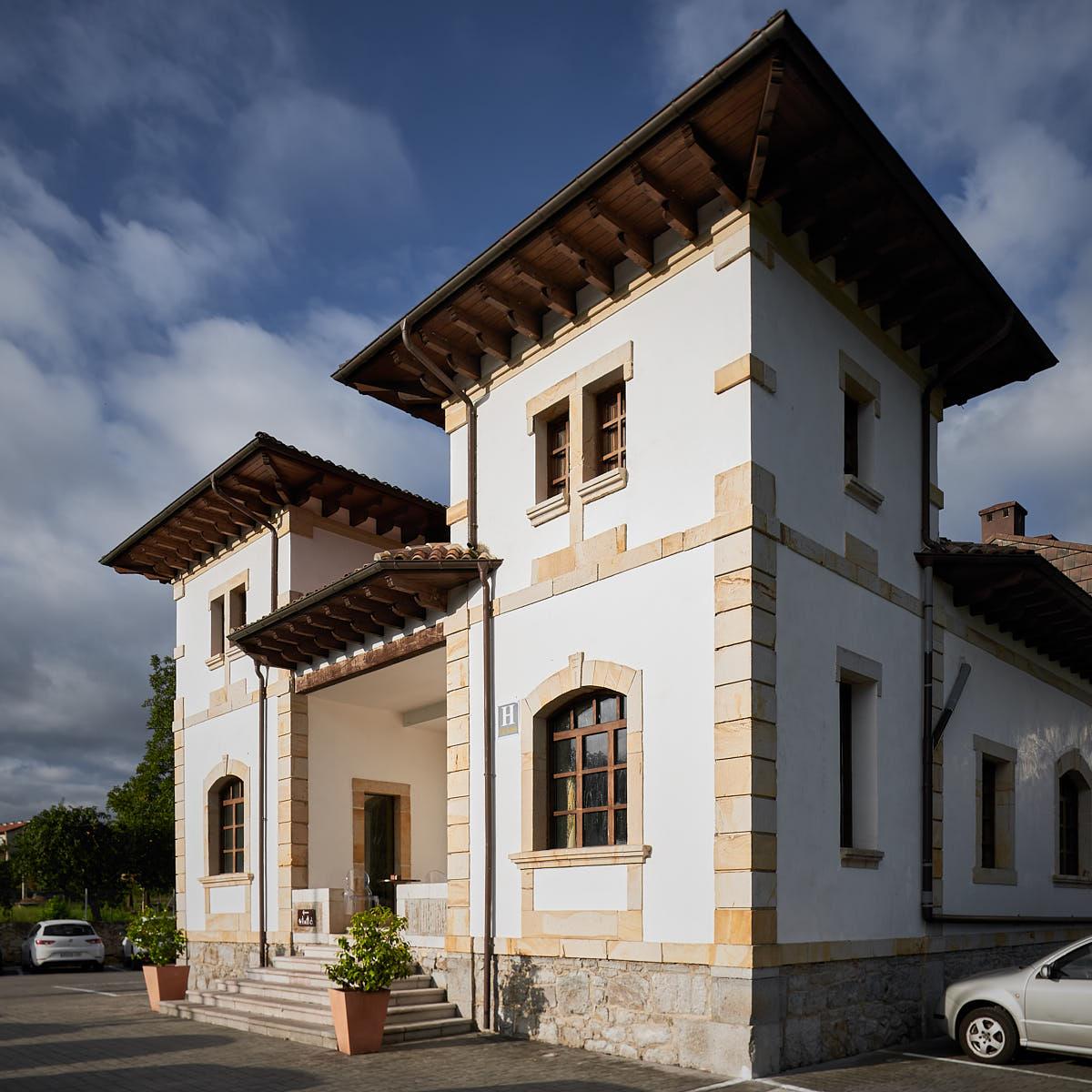Arquitectura exterior hoteles Asturias