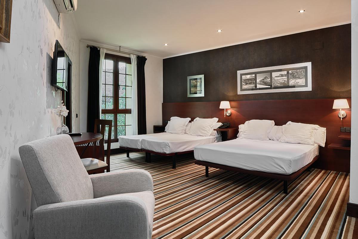 Habitaciones Interiores Hoteles Asturias