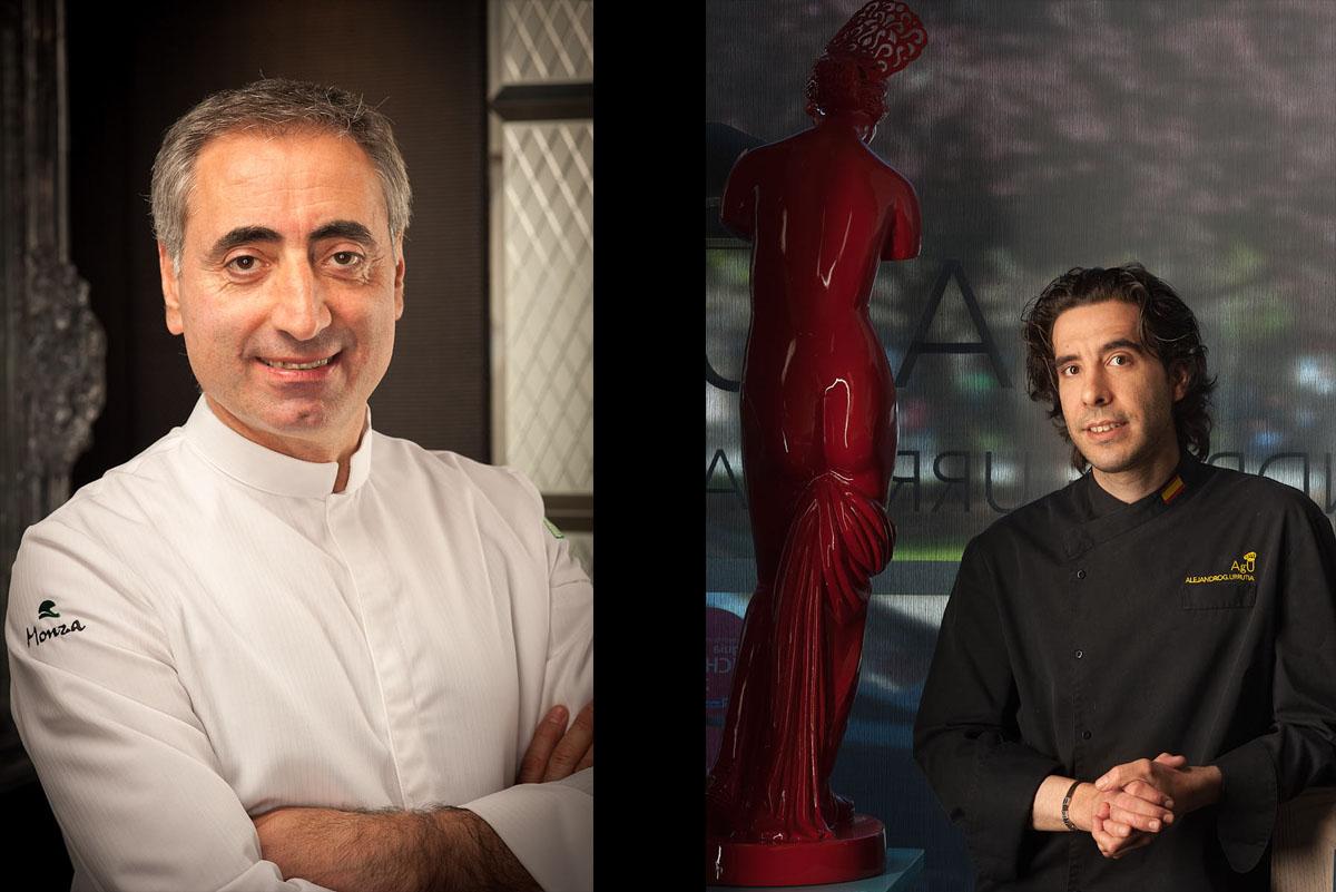 Retratos Chefs de Cocina Asturias