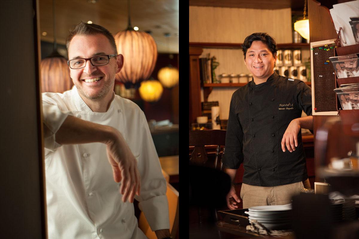 Fotografía cocineros restaurantes