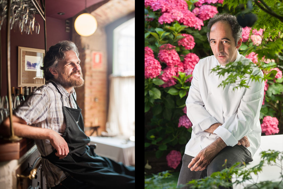 Retrato Editorial Chefs Cocina