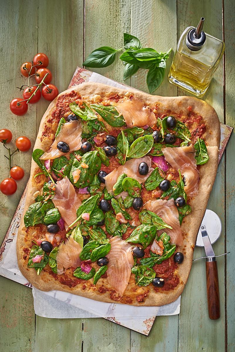 Fotografía bodegón Pizza