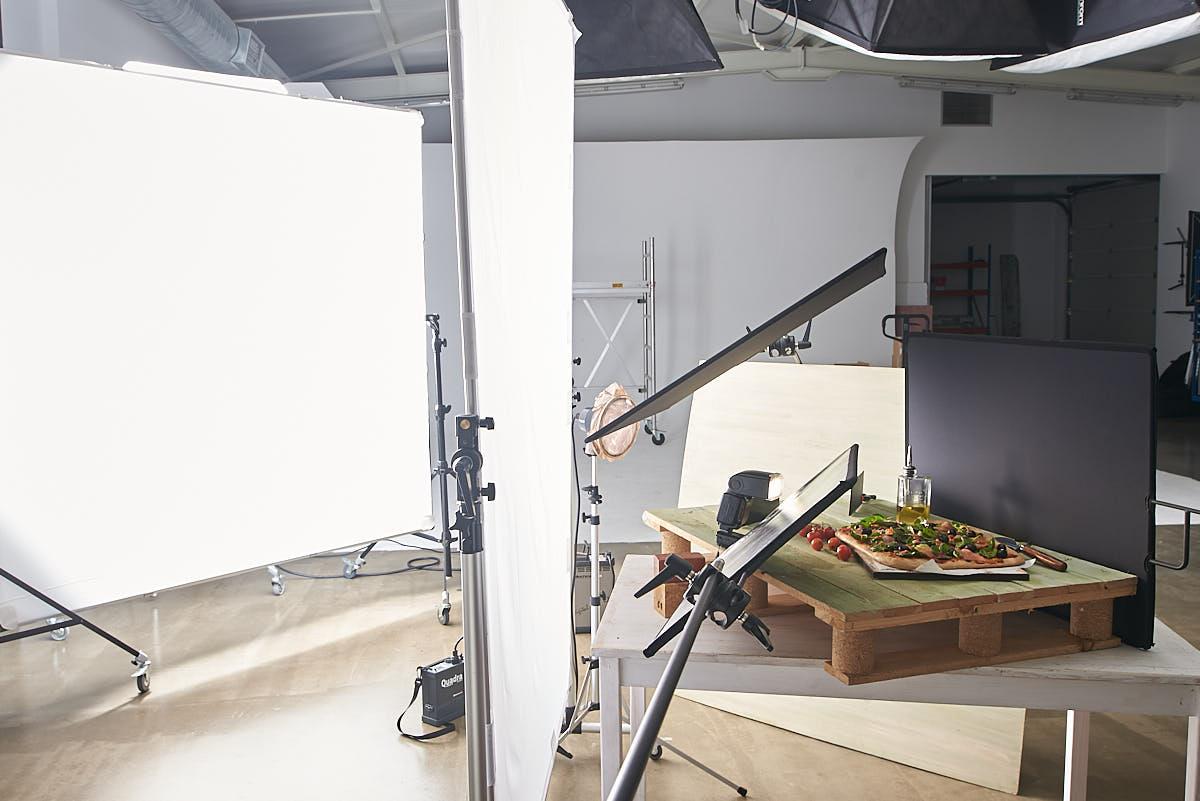 Making Of Estudio Fotografía Alimentación