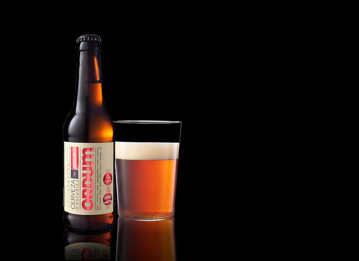 Imagen publicitaria para una marca de bebidas