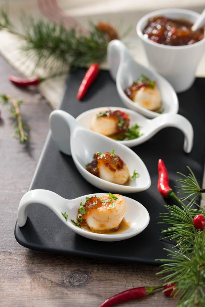 Aperitivos de Navidad recetas