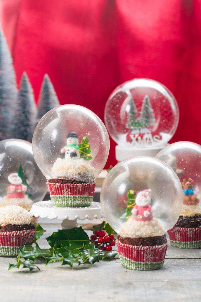 REcetas de magdalenas para Navidad