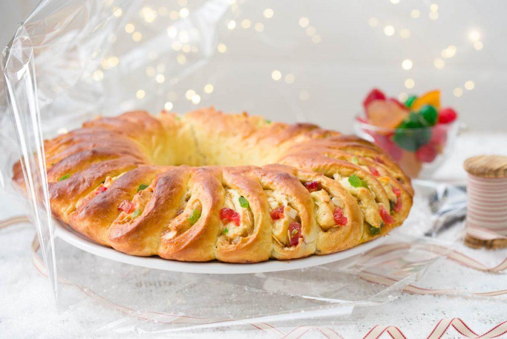 Roscón de reyes receta Navidad para revista Thermomix