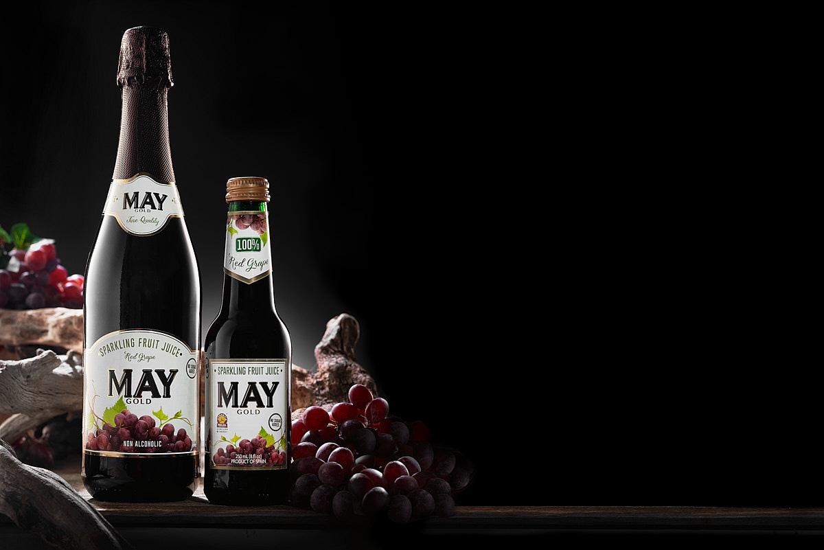Bodegón Publicitario de la bebida May