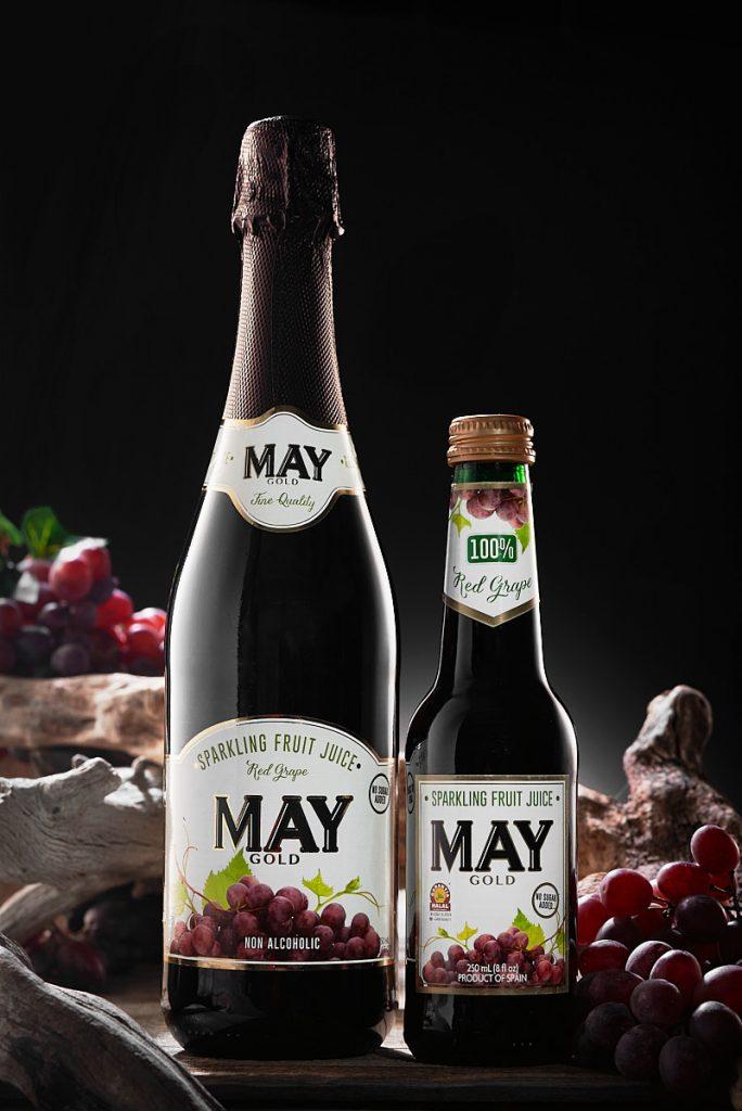 Bodegón Publicitario para la marca de bebidas Mayador